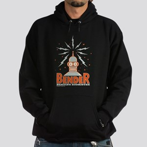 Futurama Bender Rodriguez Hoodie (dark)