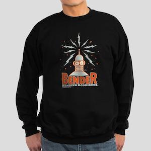 Futurama Bender Rodriguez Sweatshirt (dark)