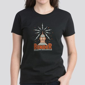 Futurama Bender Rodriguez Women's Dark T-Shirt