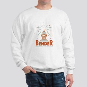 Futurama Bender Rodriguez Sweatshirt