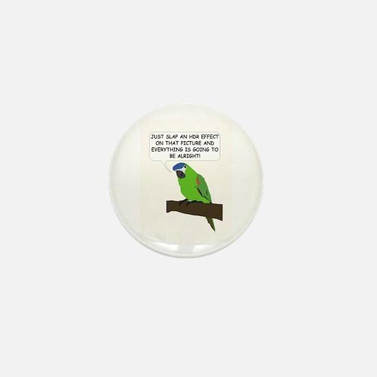 HDR Parrot Mini Button