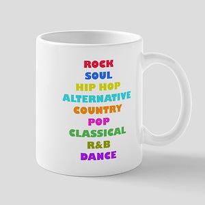 Colorful Music Mugs