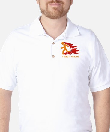 I Tried It At Home Golf Shirt