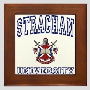 STRACHAN University Framed Tile