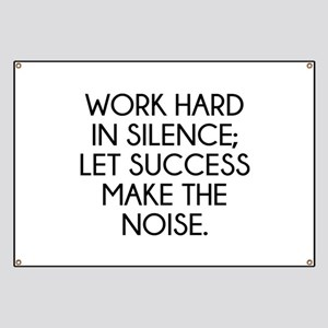 Let Succes Make The Noise Banner