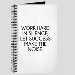 Let Succes Make The Noise Journal
