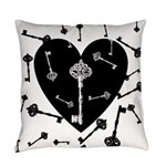 key-heart Master Pillow