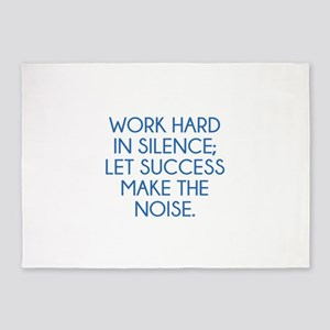 Let Succes Make The Noise 5'x7'Area Rug