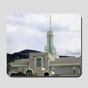 LDS Timpanogos Temple Mousepad
