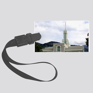 LDS Timpanogos Temple Luggage Tag