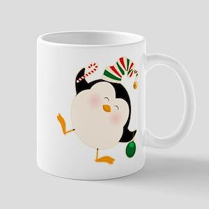 Happy Christmas Penguin 11 oz Ceramic Mug