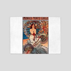 MONACO MONTE CARLO,1897 5'x7'Area Rug
