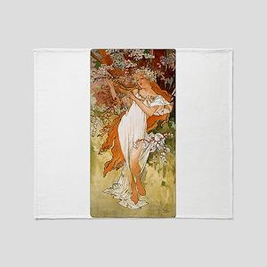 SPRING_1896 Throw Blanket