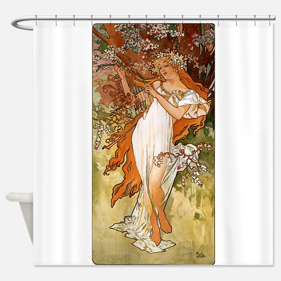 SPRING_1896.JPG Shower Curtain