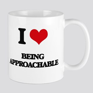 I Love Being Approachable Mugs