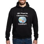 Christmas Goldfish Hoodie (dark)