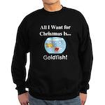 Christmas Goldfish Sweatshirt (dark)