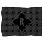 MONOGRAM Gothic Quatrefoil Pattern Pillow Sham