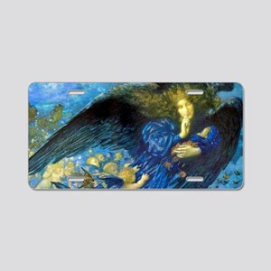 Angel with Putti Aluminum License Plate