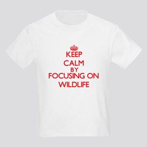 Keep Calm by focusing on Wildlife T-Shirt
