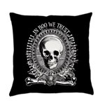 Halloween Spooky Money Master Pillow