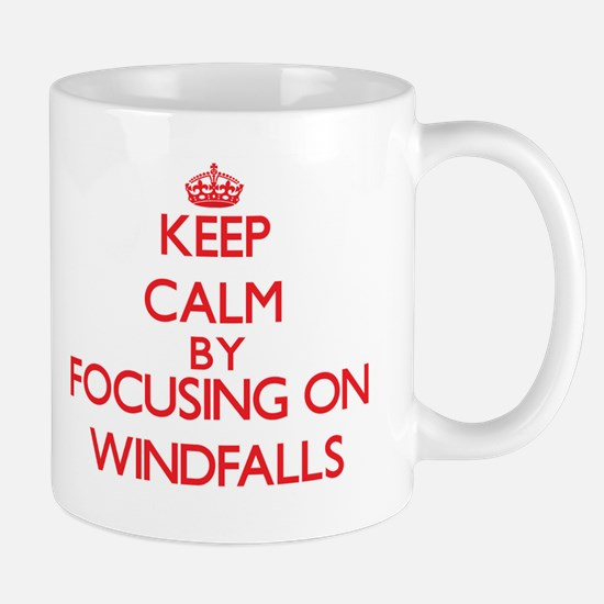 Keep Calm by focusing on Windfalls Mugs