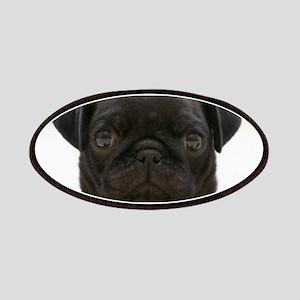 Black Pug Patches