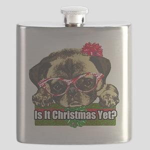Is it Christmas yet pug Flask