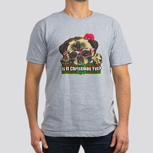 Is it Christmas yet pu Men's Fitted T-Shirt (dark)