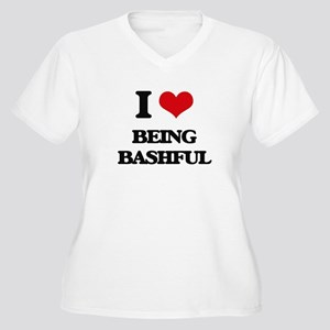 I Love Being Bashful Plus Size T-Shirt