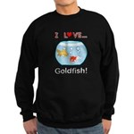 I Love Goldfish Sweatshirt (dark)