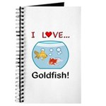 I Love Goldfish Journal