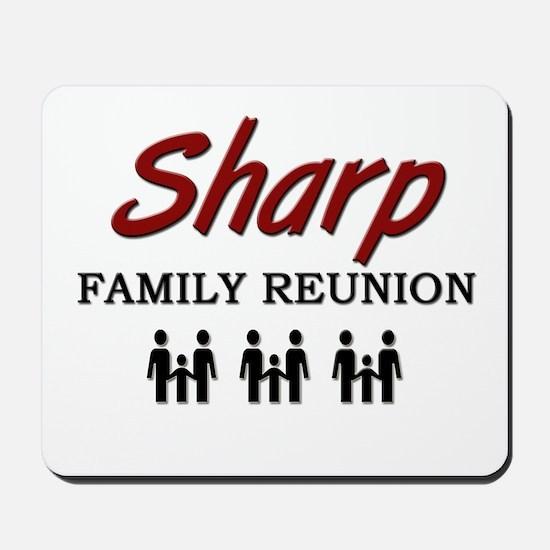 Sharp Family Reunion Mousepad