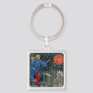 Pilgrim in the Garden Keychains
