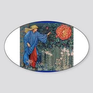 Pilgrim in the Garden Sticker