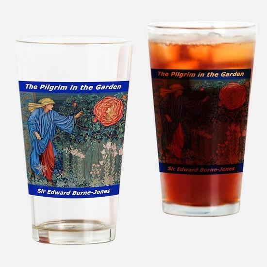 Pilgrim in the Garden Drinking Glass