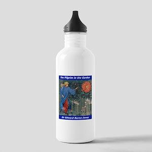 Pilgrim in the Garden Water Bottle