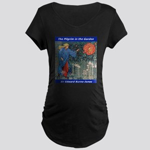 Pilgrim in the Garden Maternity T-Shirt