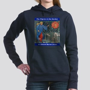 Pilgrim in the Garden Women's Hooded Sweatshirt