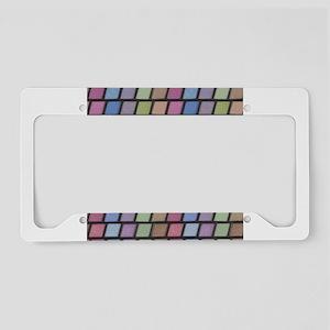 Eyeshadow Options License Plate Holder