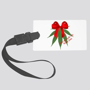 Meet me under the Mary Jane Large Luggage Tag