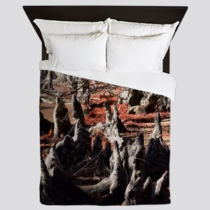 Trees on the Shore Queen Duvet