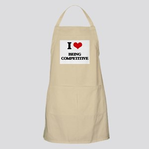 I love Being Competitive Apron