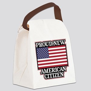 Proud New American Citizen Canvas Lunch Bag