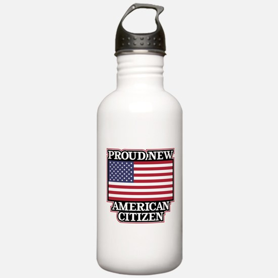 Proud New American Cit Water Bottle