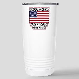 Proud New America 16 oz Stainless Steel Travel Mug