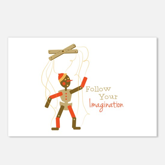 Follow Imagination Postcards (Package of 8)
