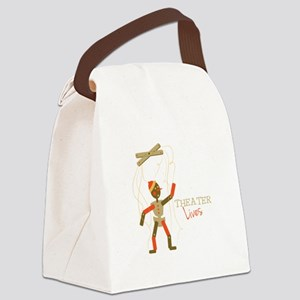 Theater Lives Canvas Lunch Bag