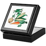 Nature Art Vegetable Design Keepsake Box