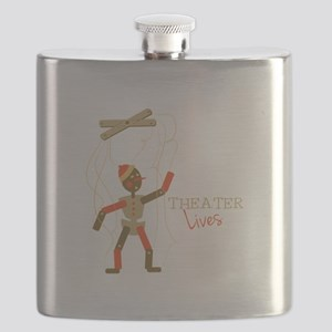 Theater Lives Flask